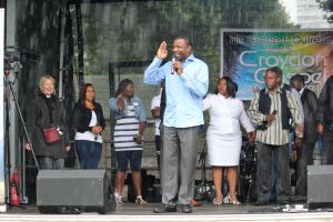 His Grace E. Outreach, Croydon Gospel Festival 2011